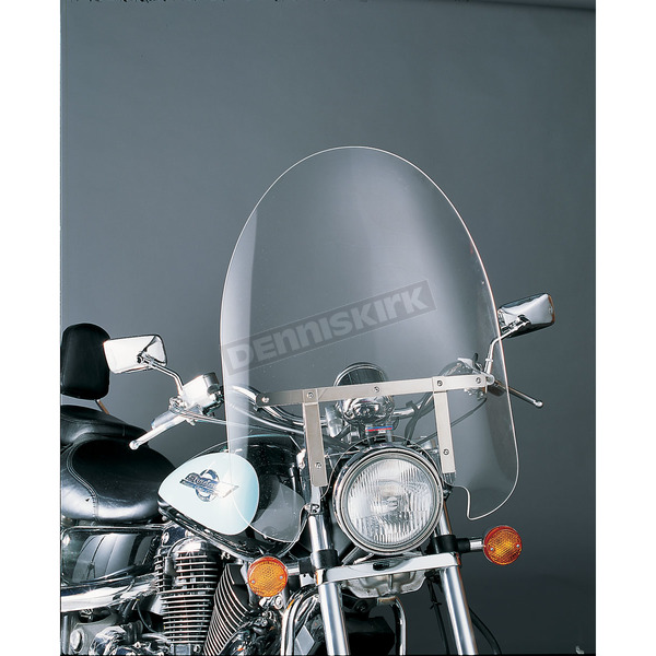 Slip Streamer 22 in. Clear SS-30 Classic Windshields for 42-58mm Fat Fork Tubes - SS-30-22CF