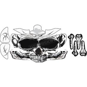 Stickerpoint Skull Helmet Sticker Kit - 220151