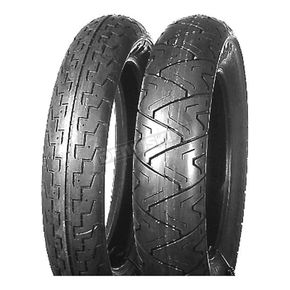 Continental Rear TK17 Conti Tour 130/90H-16 Blackwall Tire - TK17