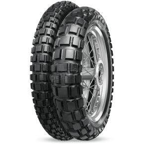 Continental Front Twinduro 120/70QB-17 Blackwall Tire - 02000230000
