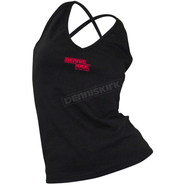 Dennis Kirk Inc. Spaghetti Strap Crossover Tank Top -