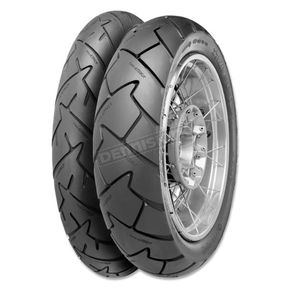 Continental Rear Conti Trail Attack 180/55ZR-17 Blackwall Tire - 02441060000