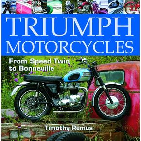 Wolfgang Publications Triumph Motorcycle Book - 43066