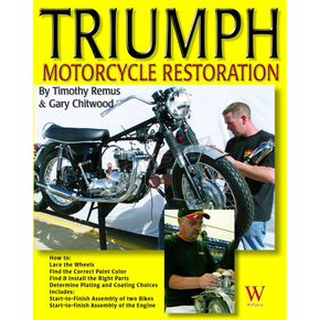 Wolfgang Publications Triumph Motorcycle Restoration - 43020