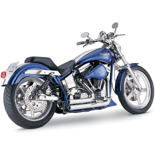 Vance & Hines Chrome Shortshots Exhaust System - 17207