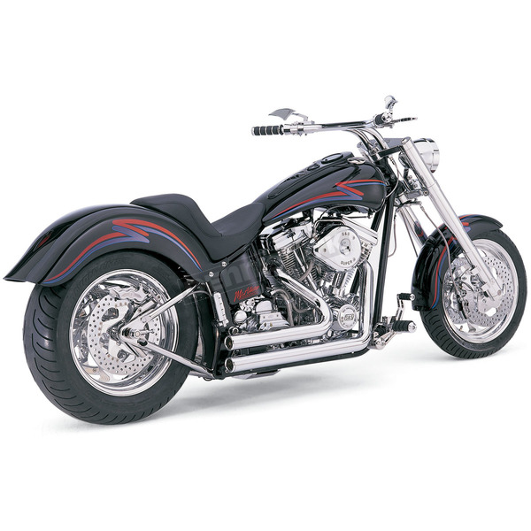 Vance & Hines Chrome Shortshots Exhaust System - 17209