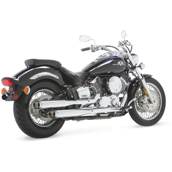 Vance & Hines Classic II Staggered Dual Exhaust Slip-Ons - 19563
