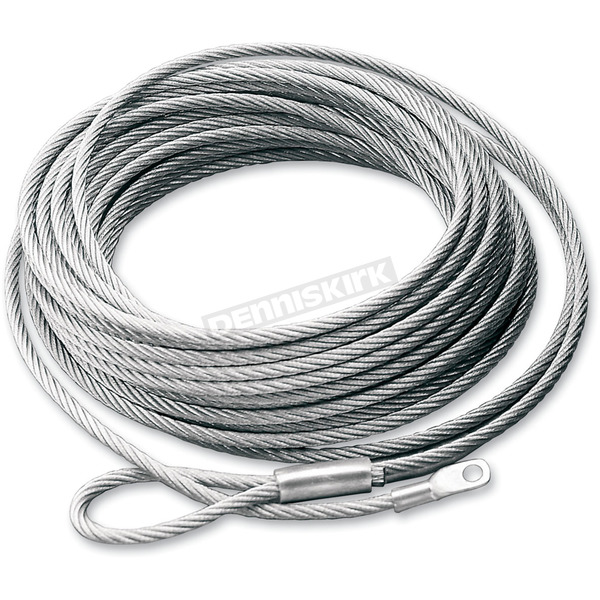 Warn Replacement Wire Rope for ATV Winch w/Steel Drum - 15236