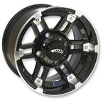 Roll 'In Machined Black 14x7 Wheel - 4730-031AB