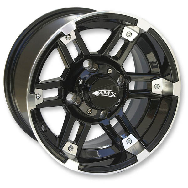 Roll 'In Machined Black 14x7 Wheel - 4731-031AB