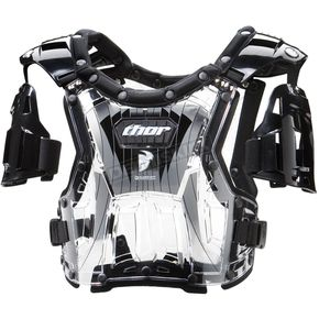 Thor Youth Quadrant Clear/Black Roost Deflector - 27010363