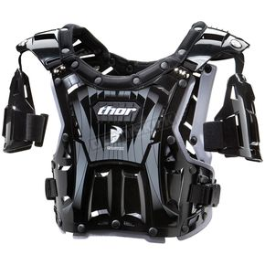 Thor Youth Quadrant Black/White Roost Deflector - 2701-0362