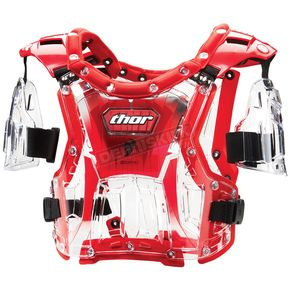 Thor Youth Quadrant Clear/Red Roost Deflector - 27010364