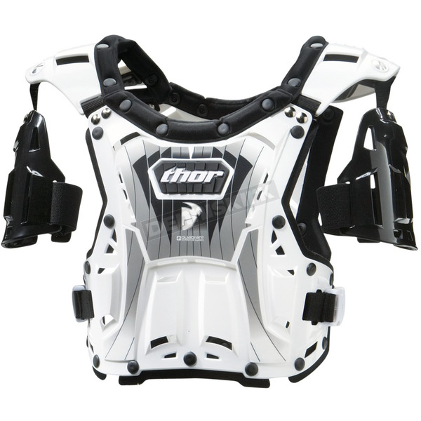 Thor Youth Quadrant White/Black Roost Deflector - 27010366