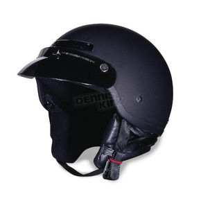 The Drifter Flat Black Helmet