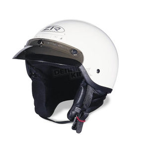 The Drifter White Helmet