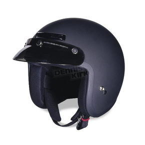 Z1R The Jimmy Flat Black Helmet - JIMMY