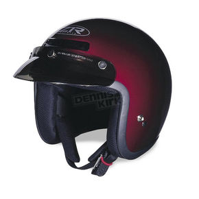 Z1R Jimmy Retro Wine Helmet - JIMMY