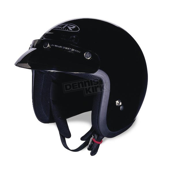 Z1R Jimmy Black Helmet - ZR30008
