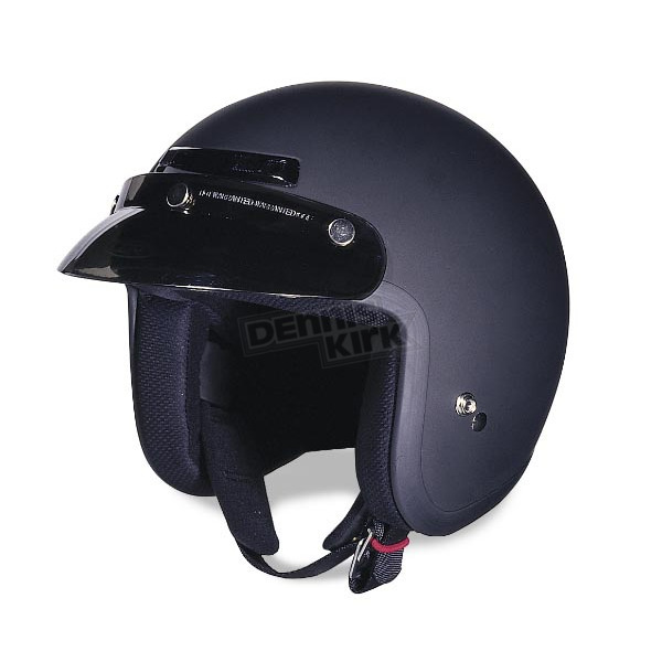 Z1R The Jimmy Flat Black Helmet - ZR30016