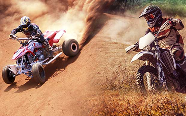 How do you ride? Shop Offroad now