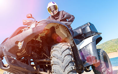 How do you ride? Shop atv now