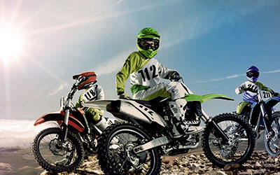 How do you ride? Shop Dirt Bike now