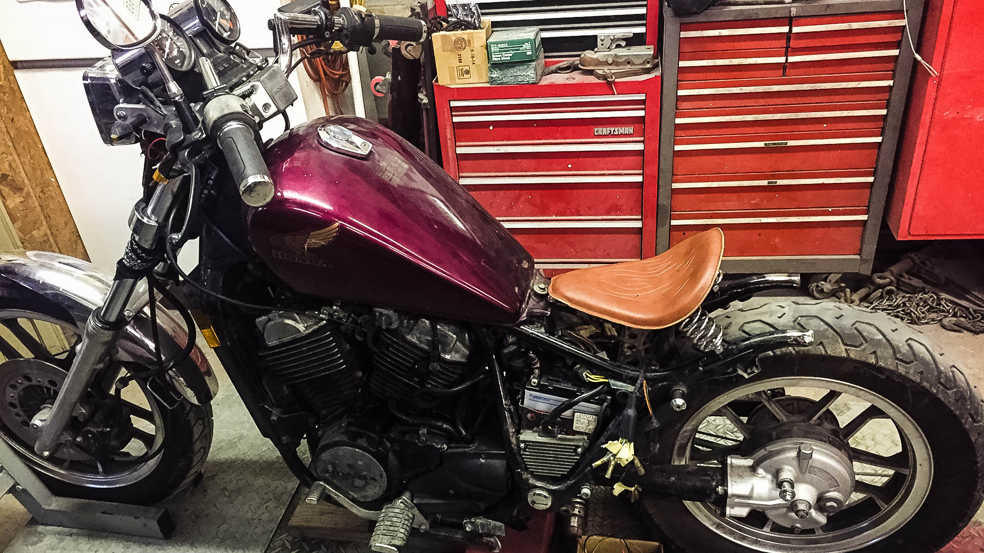 1983 Honda Shadow Vt500c Dennis Kirk Garage Build