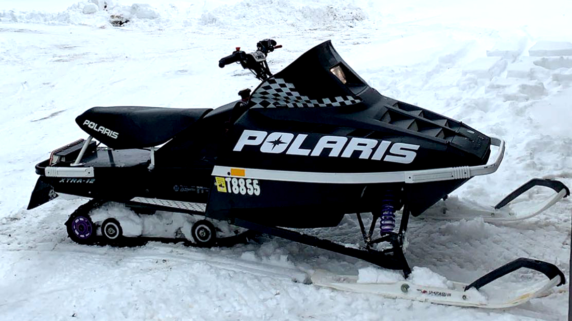 1997 Polaris XLT Dennis Kirk Sled Build