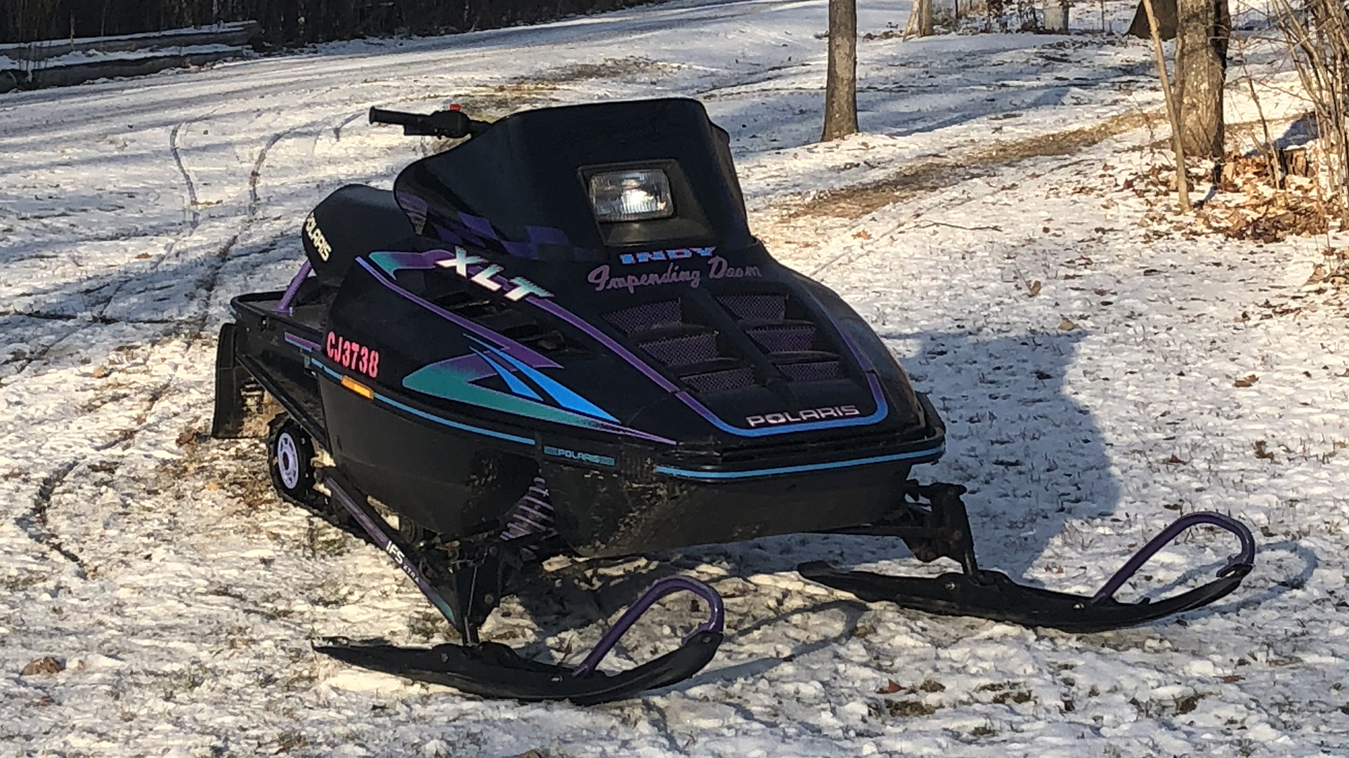 1 Pair For 2000 Polaris 600 Triumph Snowmobile~C /& A Pro 76000184
